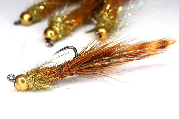 Deer hair jig (ruskea)